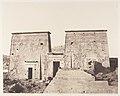 Ile de Fîleh (Philæ), Premier Pylône - Vue Prise de la Plate-Forme de la Colonnade Orientale en P MET DP138601.jpg