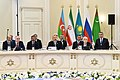Ilham Aliyev attended the 5th Summit of Heads of State of Caspian littoral states.JPG