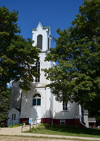 National Register of Historic Places listings in Bureau County, Illinois - Image: Image First Congregational Church