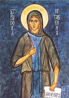 Saint Isidora Eastern Orthodox saint