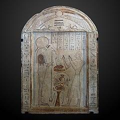 Imenirdis worshiping Ra-Atum-C 114