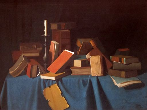 In the Library by John F. Peto, Timken Museum of Art