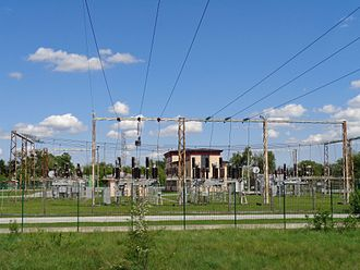 Electrical substation - A 35/10 kV substation in Čakovec, Croatia