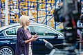 Informal meeting of ministers for foreign affairs (Gymnich). Arrivals Jadranka Joksimovic (36957320341).jpg