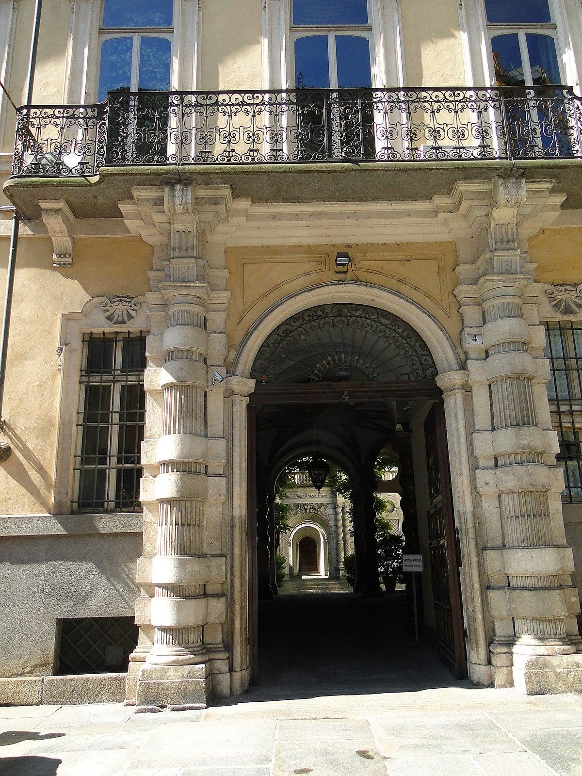 Palazzo asinari di san marzano wikipedia for Piani di palazzi contemporanei