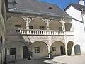 Inner courtyard Schloss Rogendorf at Pöggstall, Lower Austria 19.JPG