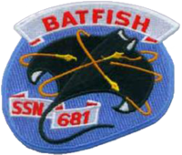 Insignia of SSN-681 Batfish