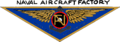 Insignia of the US Navy Naval Aircraft Factory in 1951 (coloured).png