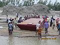Installation of Experimental floating landing station at Meghai-Jamuna Adarsha ghat, Sirajganj 31.JPG