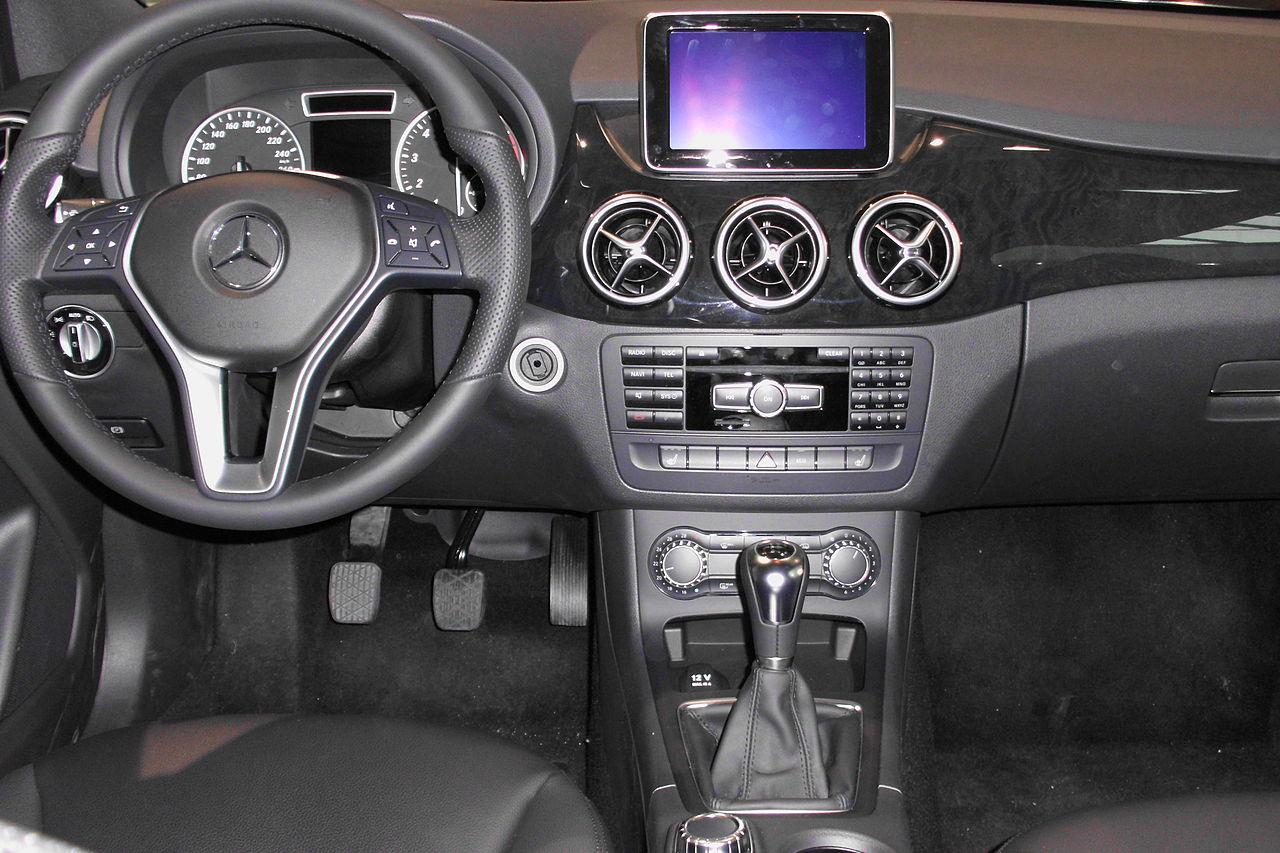 File Instrument Cluster Mercedes Benz B 200 W246 Jpg