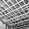 interieur, begane grond, linker voorkamer, plafond, beschilderde moerbalken - 20000798 - rce