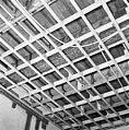 Interieur, begane grond, linker voorkamer, plafond, beschilderde moerbalken - 20000798 - RCE.jpg