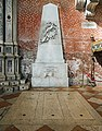 Interior of Santi Giovanni e Paolo (Venice) - monumento ai patrioti fratelli Bandiera e Domenico Moro.jpg