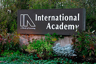 International Academy Magnet high school in Bloomfield Hills, Oakland County, Michigan, United States