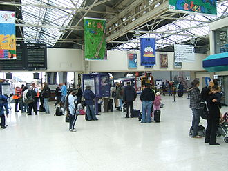 Inverness railway station - The main circulation area