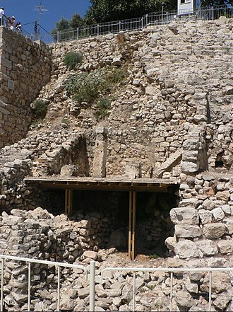 City of David - Stepped Stone Structure