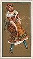 Irish Jig, from National Dances (N225, Type 1) issued by Kinney Bros. MET DPB874501.jpg