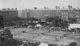 Irish Open (tennis) - Image: Irish Tennis championships, Dublin