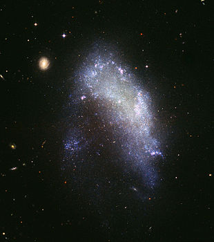 Irregular galaxy NGC 1427A (captured by the Hubble Space Telescope).jpg