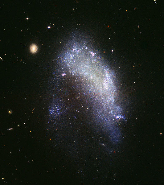 파일:Irregular galaxy NGC 1427A (captured by the Hubble Space Telescope).jpg