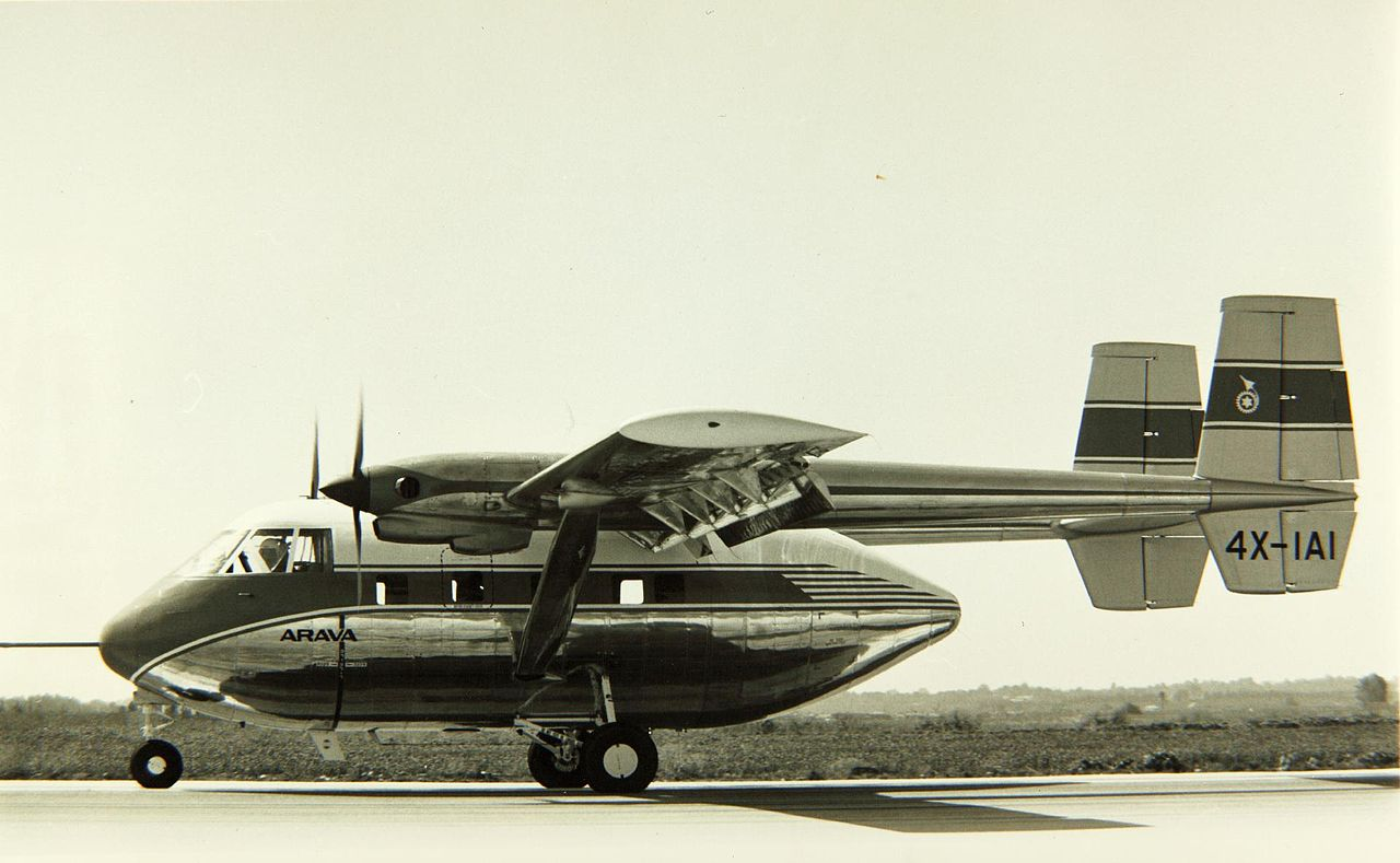 File Israel Aircraft Industries Ltd 201 Arava Stol Jpg