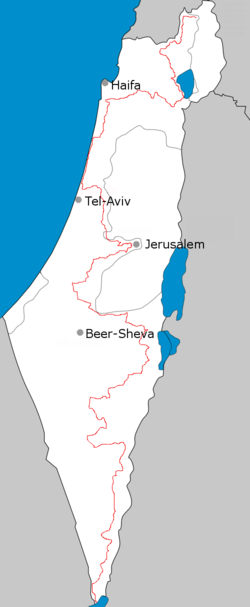 Israel Karte Heute.Israel National Trail Wikipedia