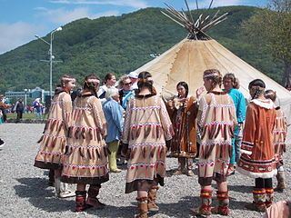 ethnic group who are the original inhabitants living on the Kamchatka Peninsula in Russia