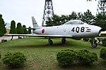 JASDF F-86F(52-7408) right front view at Komatsu Air Base September 17, 2018 03.jpg