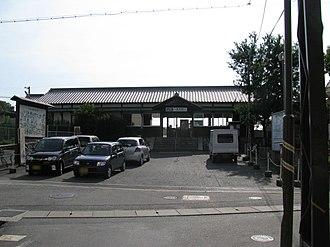 Ichinomoto Station - The station building
