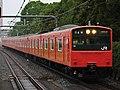 JR West 201 series set LB9 Osakajokoen Station 20171002 (2).jpg