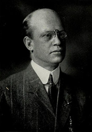 J. W. H. Pollard - Pollard pictured in The Calyx 1913, Washington and Lee yearbook