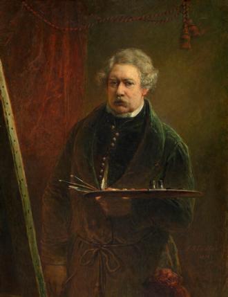 Jacobus Josephus Eeckhout - Self-portrait, 1851