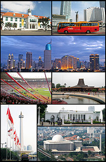 Jakarta Special Capital Region in Indonesia