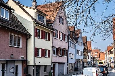 Jakobsgasse Tübingen Blickrichtung Westen 2019.jpg