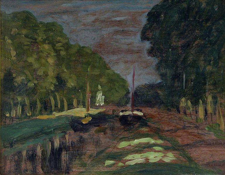Ca s'est passé en août ! 769px-James-Wilson-Morrice-Paris-Canal-Vers-1900