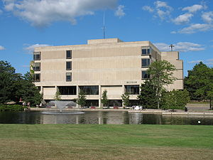 The James H. Zumberge Library, Grand Valley St...