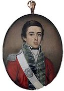 James Warren Childe, circa 1810-15 A subaltern of the 24th (2nd Warwickshire) Regiment of Foot.jpg