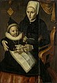 Jan Claesz. - Moeder en kind in Noordhollandse dracht - SK-A-1580 - Rijksmuseum.jpg