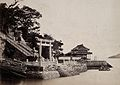 Japan; the temple of Hatchiman Wellcome V0037657.jpg