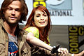 Jared Padalecki & Felicia Day (9364878026).jpg