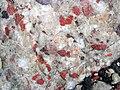 Jasper-quartz pebble conglomerate (Lorrain Formation, Paleoproterozoic, ~2.3 Ga; Ottertail Lake Northeast roadcut, near Bruce Mines, Ontario, Canada) 28 (47709319501).jpg