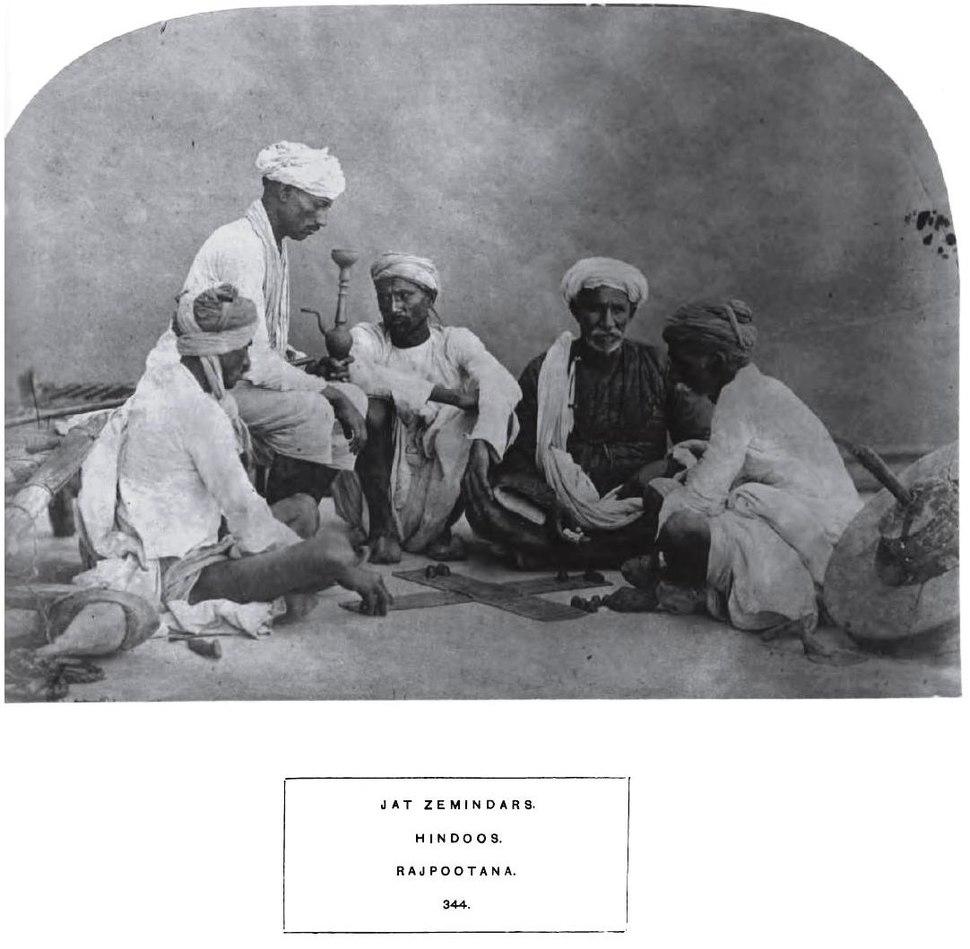 JatZemindarsRajpootana1874