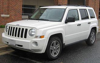 Jeep Patriot - Image: Jeep Patriot