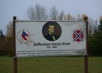Jefferson Davis Park, Washington - Jefferson Davis Park, Washington
