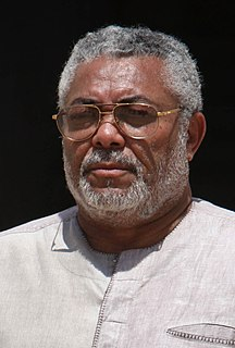 Jerry Rawlings Fourth President of the Republic of Ghana