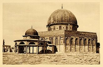 Dome of the Rock - 1920s photograph