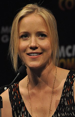 Jessy Schram - Schram at MCM London Comic Con, 2013
