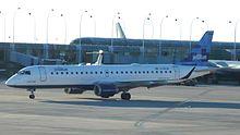 Un Embraer 190 (