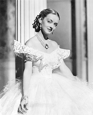 Bette Davis - Bette Davis in Jezebel (1938)