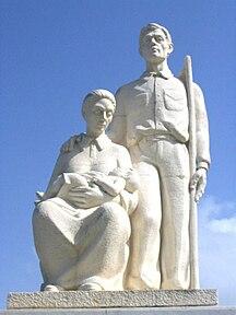 Porto Rico-Cultura-Jibaro Monument